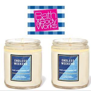 Bath & Body Works Endless Weekend Single Wick